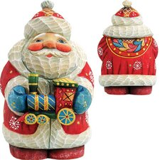 Derevo Santa Train Figurine