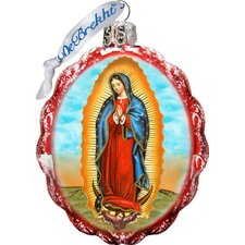 Keepsake Lady of Guadalupe Glass Ornament