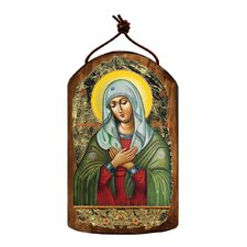 Inspirational Icon The Mother of God Tenderness Wooden Ornament