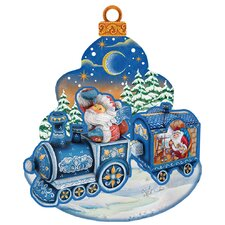 Decorative Christmas Train Scenic Ornament