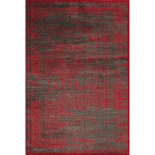 Vogue Red Area Rug