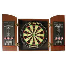 Wellington Bristle Dartboard Cabinet