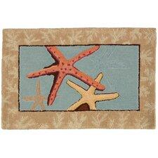 Starfish Blue Area Rug