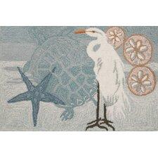Coastal Egret Rug