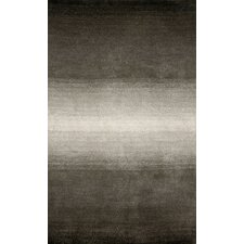 Ombre Grey Stripes Area Rug