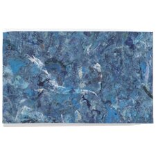 Visions I Quarry Blue Indoor/Outdoor Area Rug
