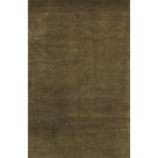 Mugal Olive Green Area Rug