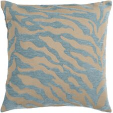 Eye-Catching Zebra Patterned Throw Pillow