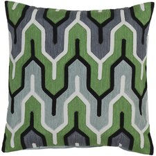 Retro Modern Cotton Throw Pillow