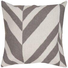 Slanted Stripe Throw Pillow