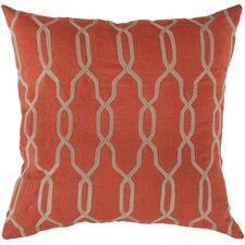 Glamorous Geometric Linen Throw Pillow