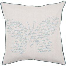 French Fly Away Throw Pillow