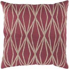Daring Diamond Cotton Throw Pillow