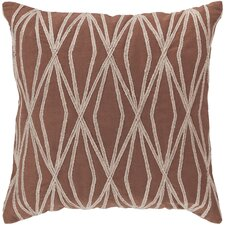 Daring Diamond Cotton Throw Pillow