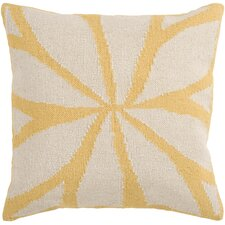 Lush Leaf Throw Pillow