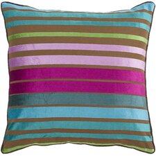 Sparkling Stripe Viscose Throw Pillow