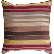 Sparkling Stripe Viscose Throw Pillow