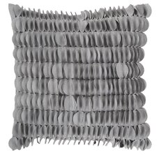 Textured Circle Throw Pillow