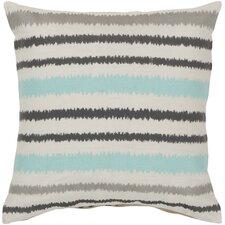Vertical Stripes Linen Throw Pillow