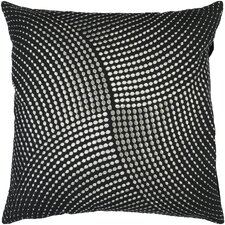 Divine Dots Cotton Throw Pillow
