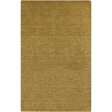 Etching Citrine Area Rug
