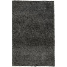 Venetian Black Solid Rug