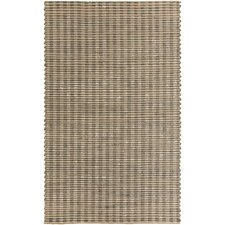 Reeds Elephant Gray/Winter White Rug