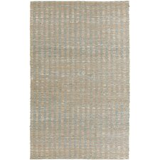 Reeds Slate Blue/Winter White Rug