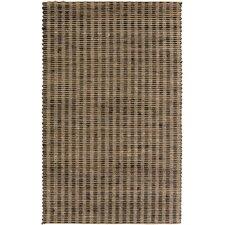 Reeds Tan/Black Olive Rug