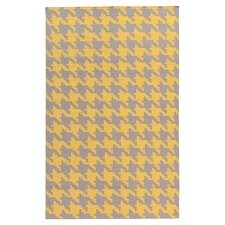 Frontier Elephant Gray & Quince Yellow Area Rug
