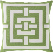 Charming Criss Cross Cotton Throw Pillow