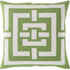 Charming Criss Cross Cotton Throw Pillow