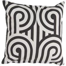 Striking Sphere Cotton Throw Pillow