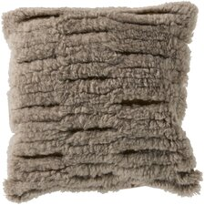 Charming Cut Out Wool Throw Pillow