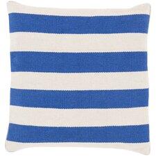 Simple in Stripe Cotton Throw Pillow