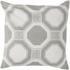 Hypnotized by Hexagons Cotton Throw Pillow