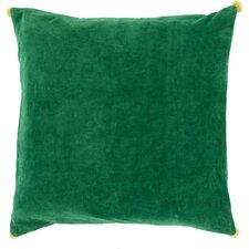 Vivacious Velvet Coton Throw Pillow