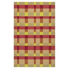 Rain Cherry & Red Area Rug