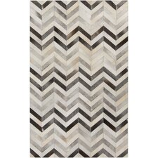 Trail Light Gray/Charcoal Area Rug