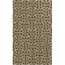 Rain Chocolate Indoor/Outdoor Rug