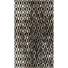 Trail Black/Gold Geometric Rug