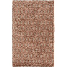 Quartz Rust Area Rug