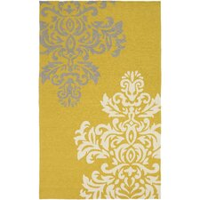Rain Gold Indoor/Outdoor Area Rug