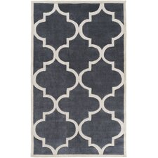 Mamba Ivory/Light Gray Geometric Area Rug