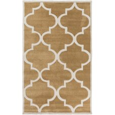 Mamba Burnt Orange/Ivory Geometric Rug