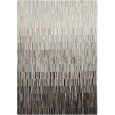 Outback Light Gray/Black Area Rug