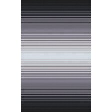 Indus Valley Charcoal/Gray Striped Area Rug
