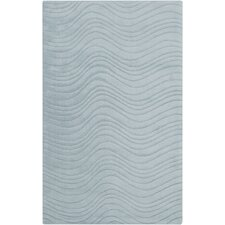 Kinetic Gray Solid Rug