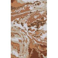 Gemini Rust/Taupe Area Rug