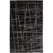 Graph Pewter/Gray Geometric Area Rug